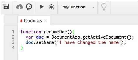 google-app-scripts-doc-setname