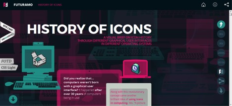 history-of-icons-web-design