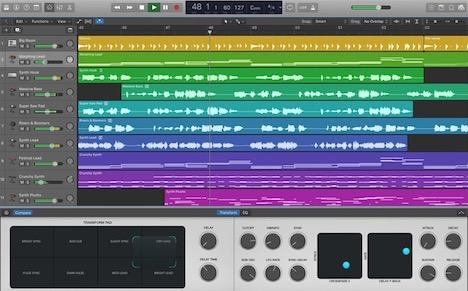 logic-pro-x-music-editor