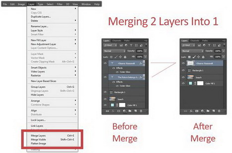 photoshop-merging-layers