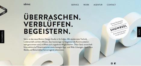 senic-web-design