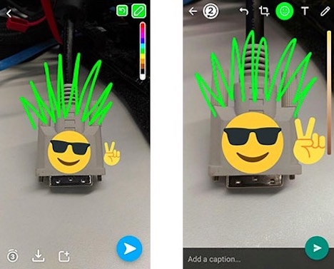 whatsapp-copy-snapchat-camera-features