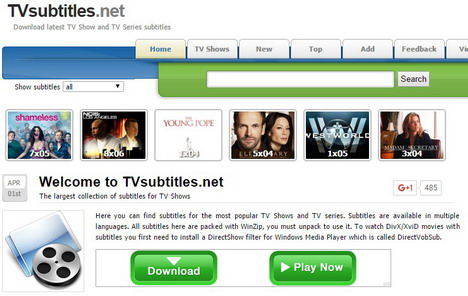 Top 30 Best Free Subtitle Download Sites for Movies & TV Shows