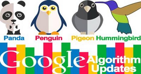 google-algorithms-updates