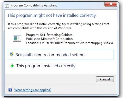 windows-problems-program-compatibility