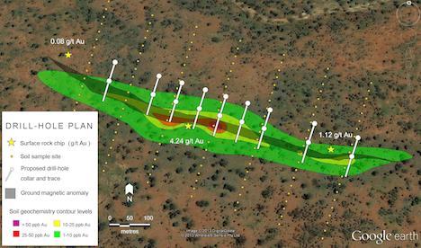 google-earth-drill-hole-plan