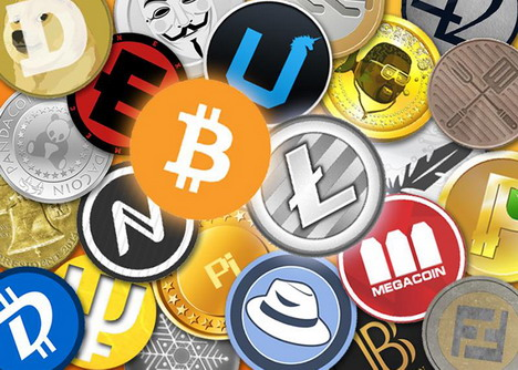 All types of cryptocurrency list