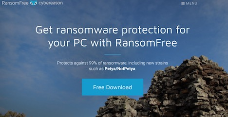 ransomfree-cybereason-pc-protection