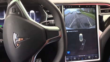 tesla-self-parking