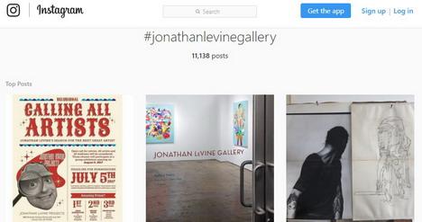 jonathanlevinegallery-instagram