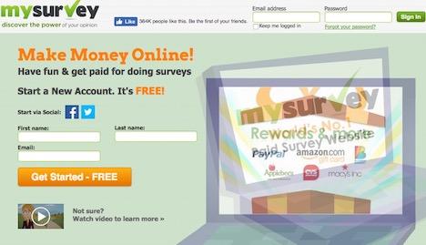 mysurvey-paid-online-survey