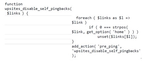php-code-disable-self-pingbacks