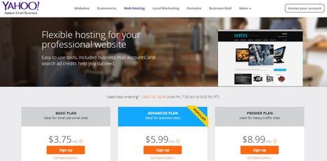 yahoo-web-hosting