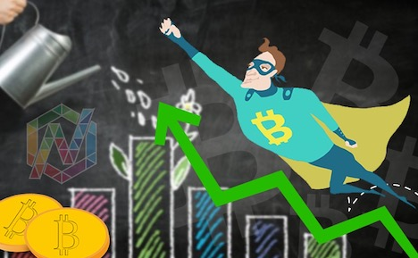 bitcoin-cryptocurrency-soaring
