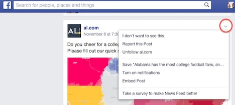 facebook-newsfeed-dropdown-arrow