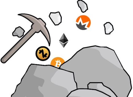 What mining cryptocurrency does mean