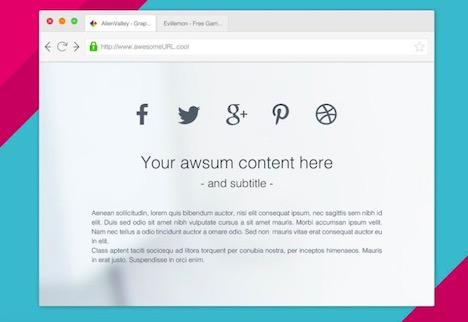 clean-browser-mockup