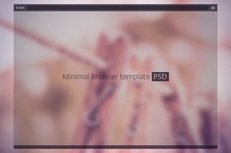 psd-dark-minimal-browser-template