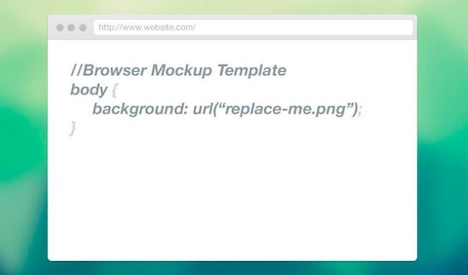web-browser-mockup-template