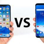 Comparison: iPhone X vs Samsung Galaxy S8 & iPhone 8 vs Nokia 8