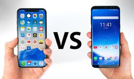 iphone-x-vs-samsung-galaxy-s8