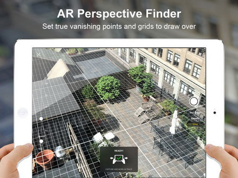 9eec65043bd8 It is a free drawing tool which uncovers virtual perspective grids of any  place to scale. Scaling of the projected items relies on a device s ability  to ...