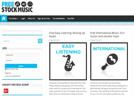 free-stock-music