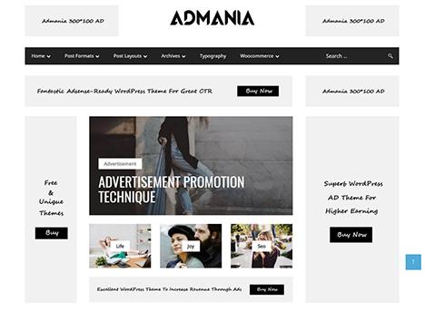 wordpress-theme-admania