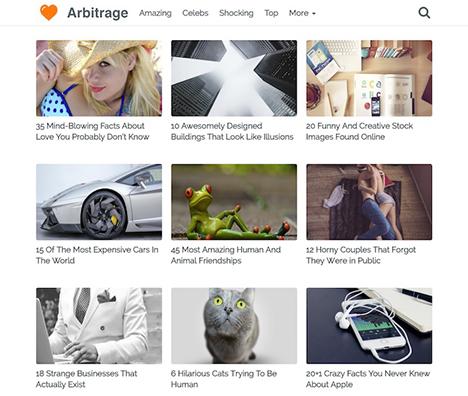 wordpress-theme-arbitrage