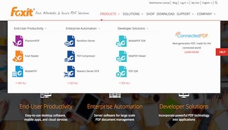 foxit-pdf-solutions