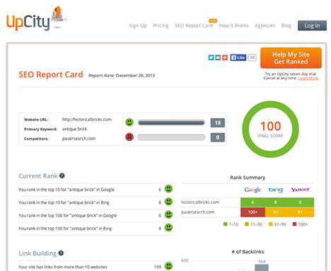 upcity-seo-report-card