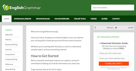 english-grammar-org