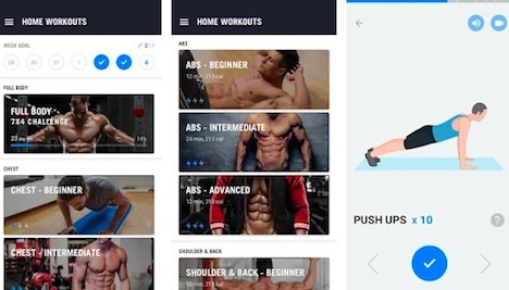 home-workout-app