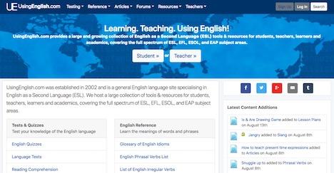 using-english