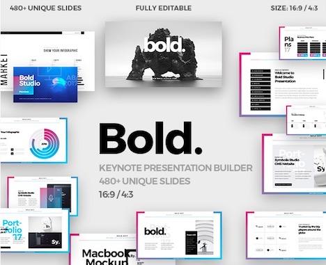 bold-minimal-keynote-template