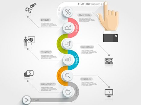 business-timeline-infographics