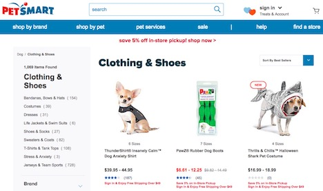 petsmart-pets-protective-clothes-accessories