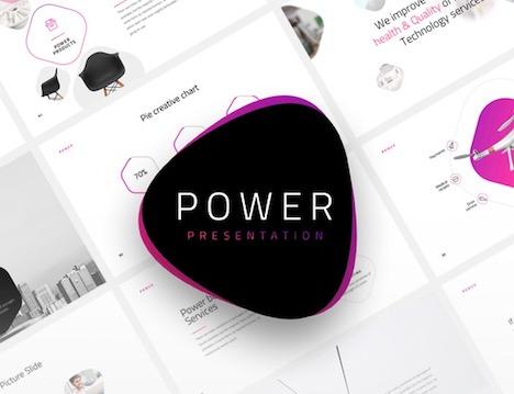 power-minimal-keynote-template
