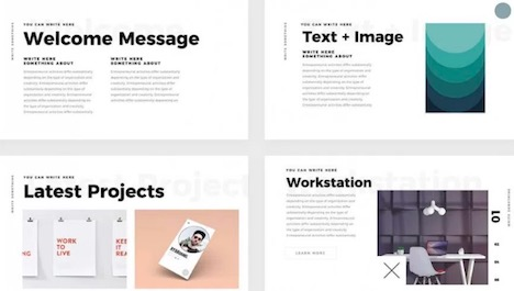 simple-minimal-free-keynote-template