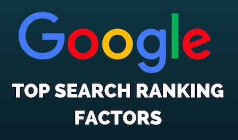 top-google-ranking-factors