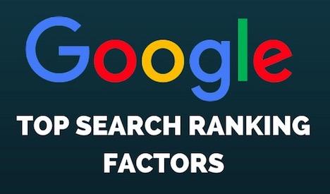 top-google-ranking-factors