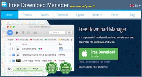 Top 20 Best Free Internet Download Manager, Accelerator (IDM) - Quertime