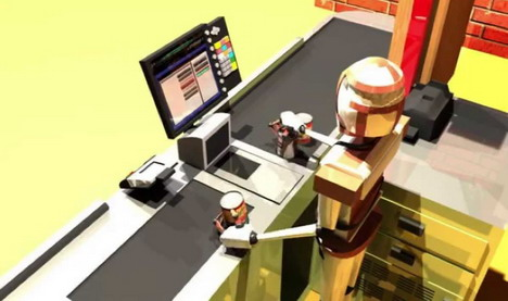 robot-cashier