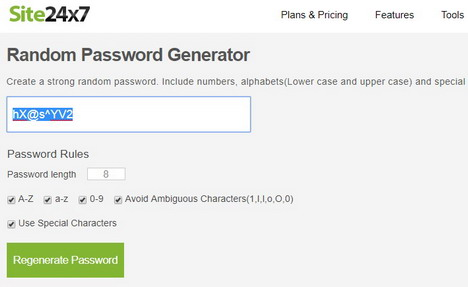 site24x7-random-password-generator