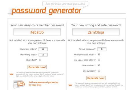 webpagefx-password-generator