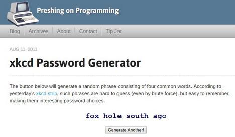 xkcd-password-generator
