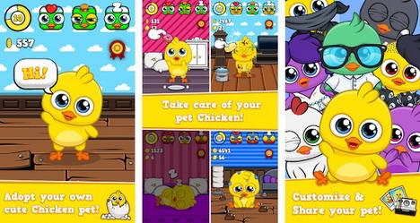 my-virtual-chicken-pet-app