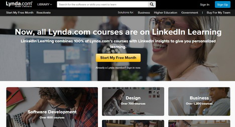lynda-educational-site