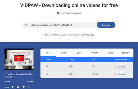 download-videos-vidpaw